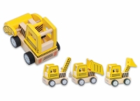 #403 - Constraction Vehicle Set - 6 Pcs