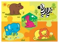 #423 - Wild Animals Puzzle
