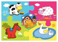 #424 - Farm Animals Puzzle