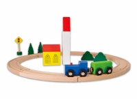 #431 - Circle Train Set - 19 Pcs